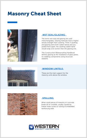 The Quick Guide to Masonry Terms